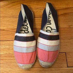Sam Edelman Shoes - Sam Edelman Verona Striped Canvas Espadrilles